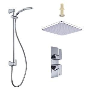 Perrin & Rowe Hoxton Shower Set 2 Chrome
