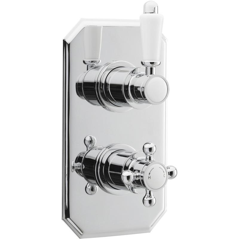 Premier Victorian Twin Thermostatic Shower Valve