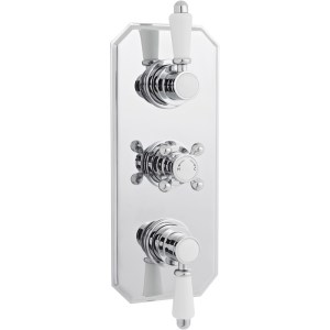 Premier Victorian Triple Thermostatic Shower Valve