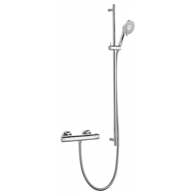 Pura Arco Single Outlet Bar Valve with Levo Extended Rail Kit