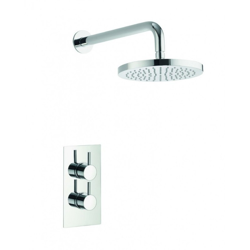 Pura Arco Concealed Shower Valve & Fixed Shower Head