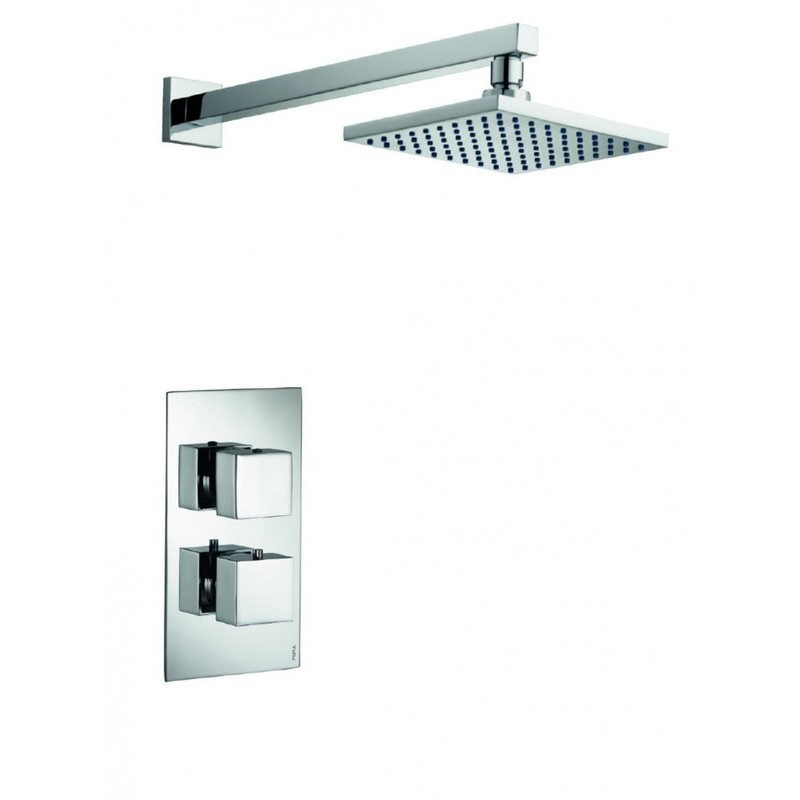 Pura Bloque2 Single Outlet Concealed Valve with Fixed Head