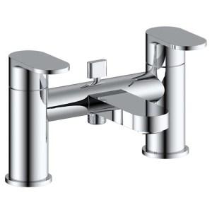 Pura Duro Bath Shower Mixer with Hose, Handset & Bracket