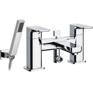 Pura Flite Bath/Shower Mixer with Shower Kit