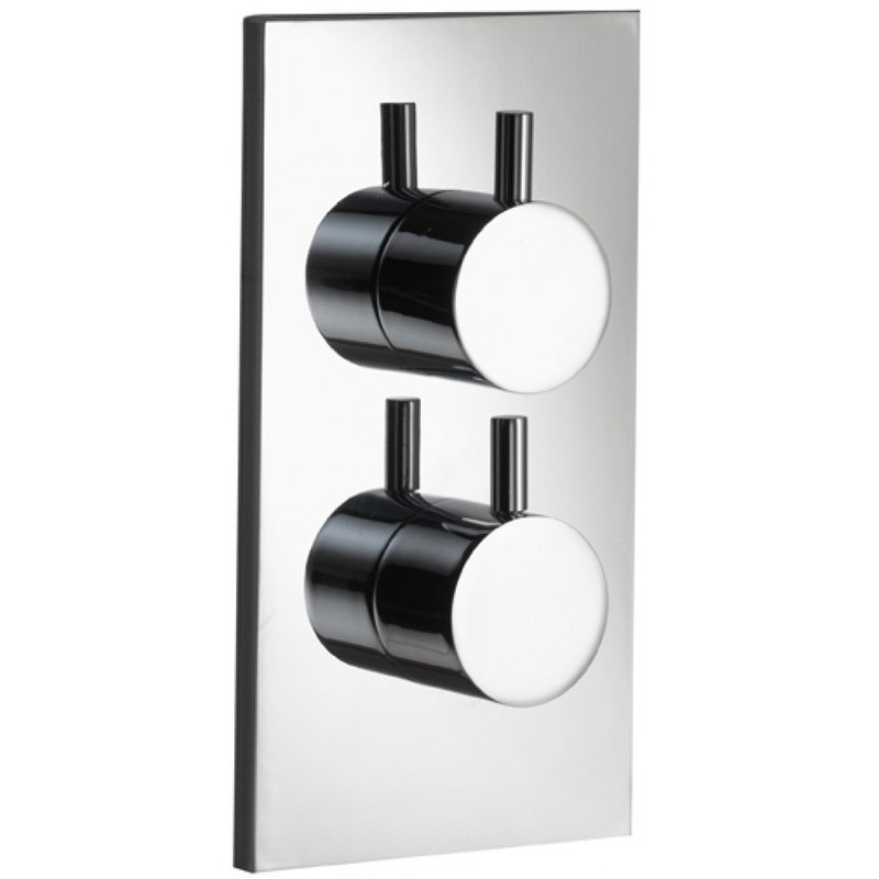 Pura Ivo Single Outlet Dual Control Concealed Shower Valve