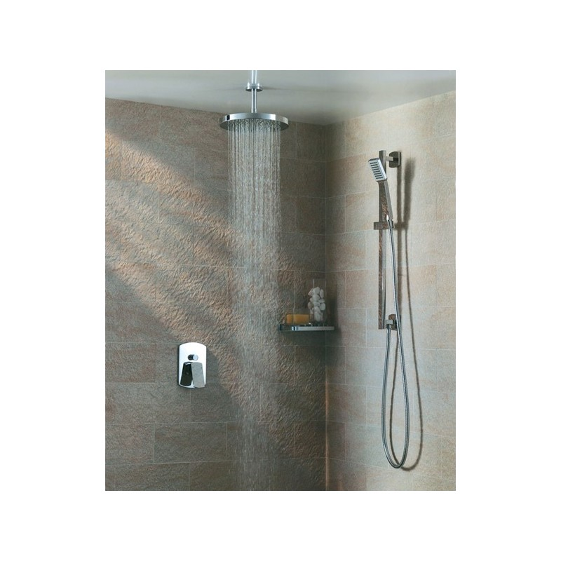 Pura Design Round Ceiling-Mounted Fixed Shower Arm 200mm