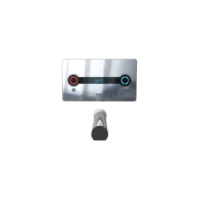 Rada ACU-T3 Concealed Digital Mixing Valve with 225mm Spout
