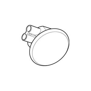 Rada Pulse 124 Single Washbasin Ceiling Infra-Red Sensor Chrome