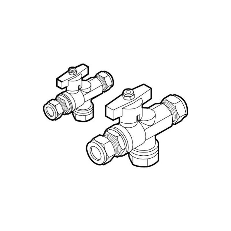 Rada Meynell 15mm Isolation/Strainer Unit