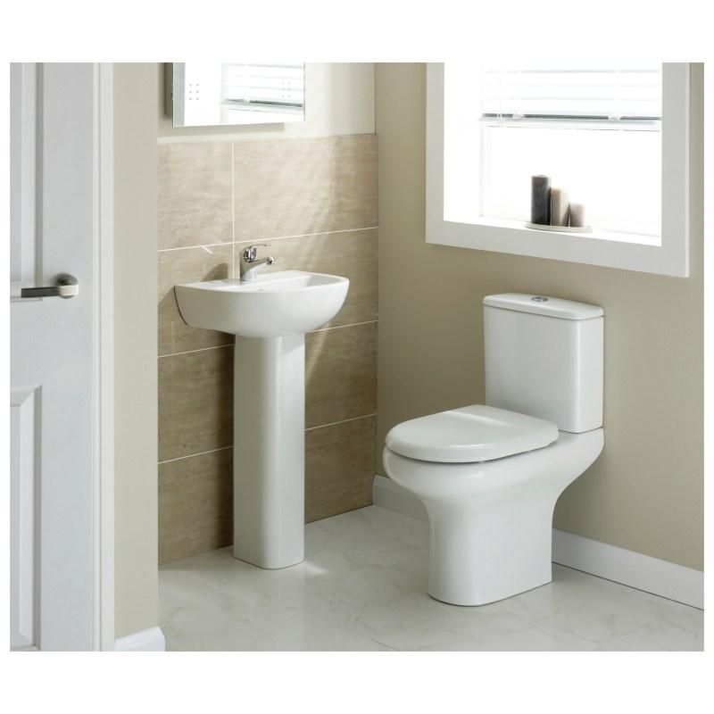 RAK Compact Cloakroom Suite