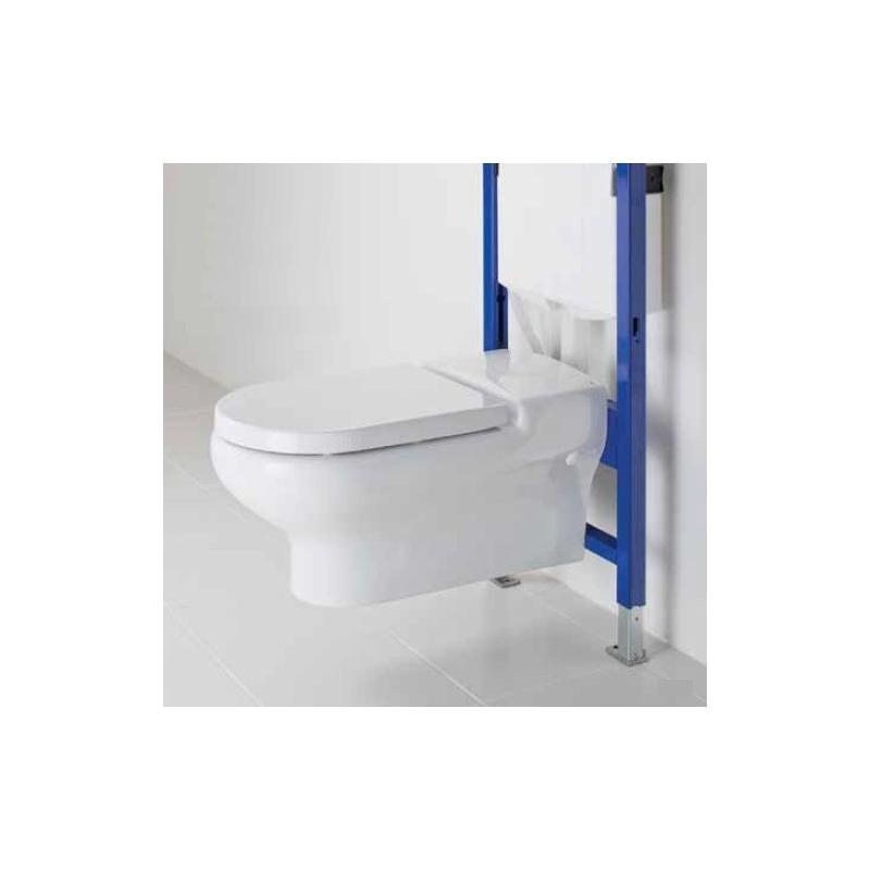 RAK Compact Deluxe Rimless Wall Hung WC Pan