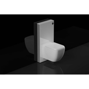 RAK Obelisk Cistern Cabinet for Wall Hung Pan White