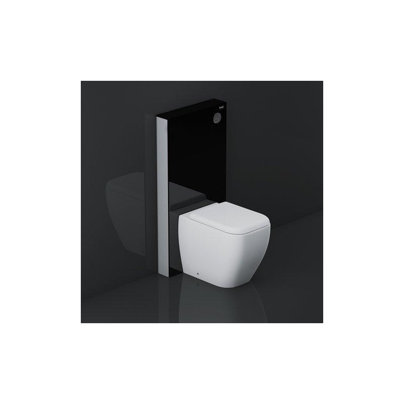 RAK Obelisk Cistern Cabinet for Back To Wall Pan Black