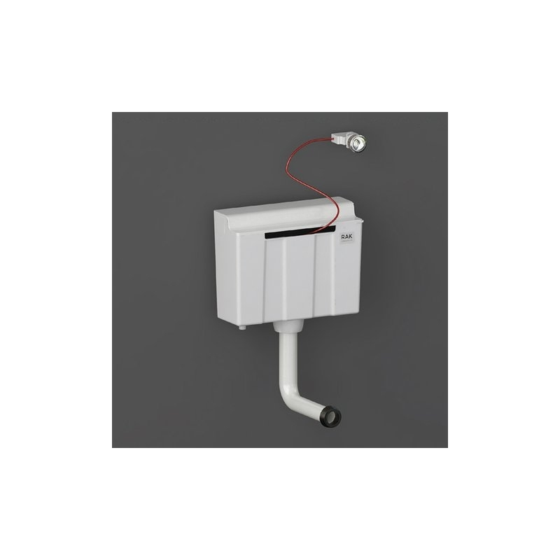 RAK Ecofix Bottom Inlet Concealed Cistern for Furniture with Push Button