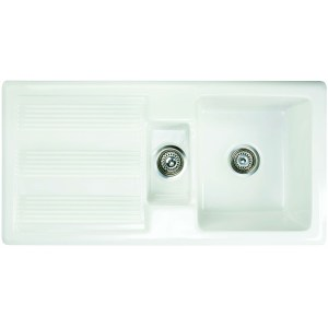 RAK Gourmet Sink 1 MKII with 1.5 Bowl & Single Drainer
