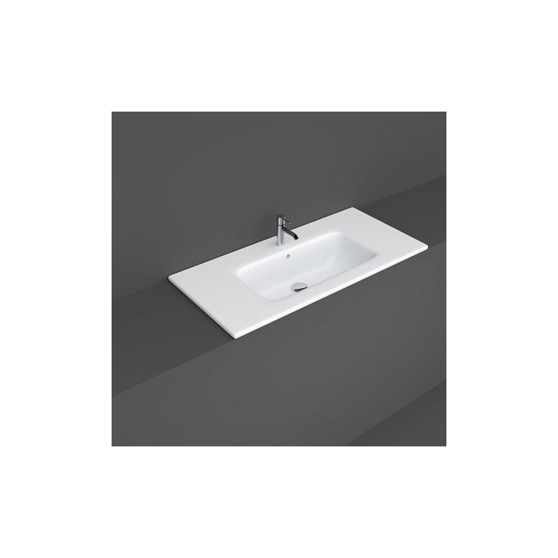 RAK Joy Drop-In Washbasin 101x46cm 1 Tap Hole