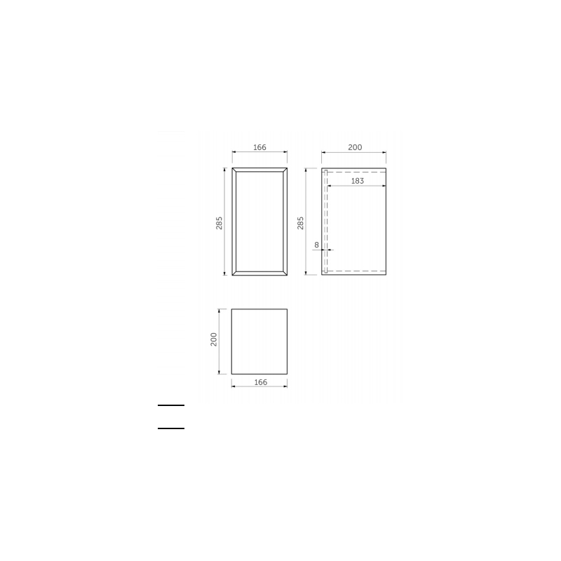 RAK Joy Drawer Insert Organiser Large (Bottom Drawer)