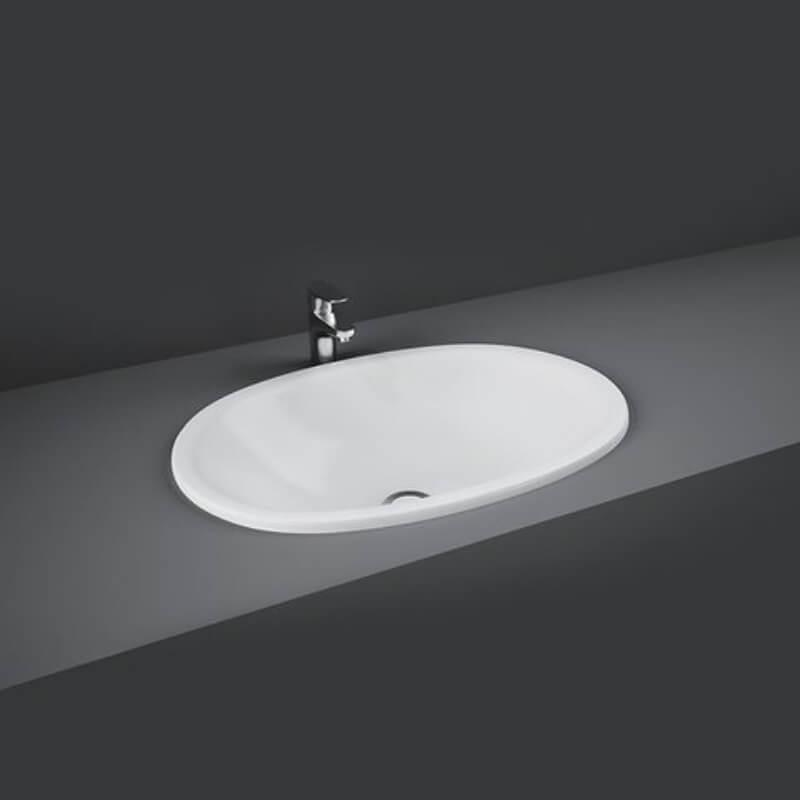 RAK Lily 46cm Over Counter Wash Basin