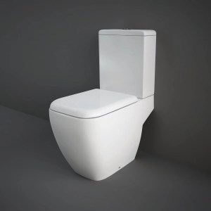 RAK Metropolitan Full Access WC Pack with Soft Close Seat
