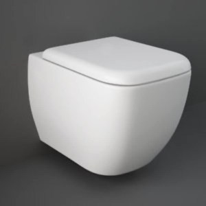 RAK Metropolitan Wall Hung Pan with Soft Close Seat