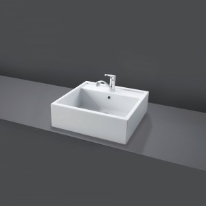 RAK Nova 46cm Sit On Wash Basin (No Tap Hole)