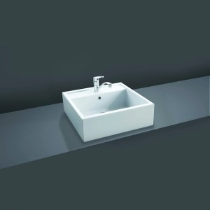 RAK Nova 46cm Sit On Wash Basin 1 Taphole