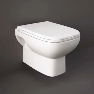 RAK Origin Wall Hung Pan with Soft Close PP Seat