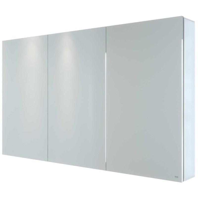 RAK Gemini 1200x700mm Triple Door Mirrored Cabinet