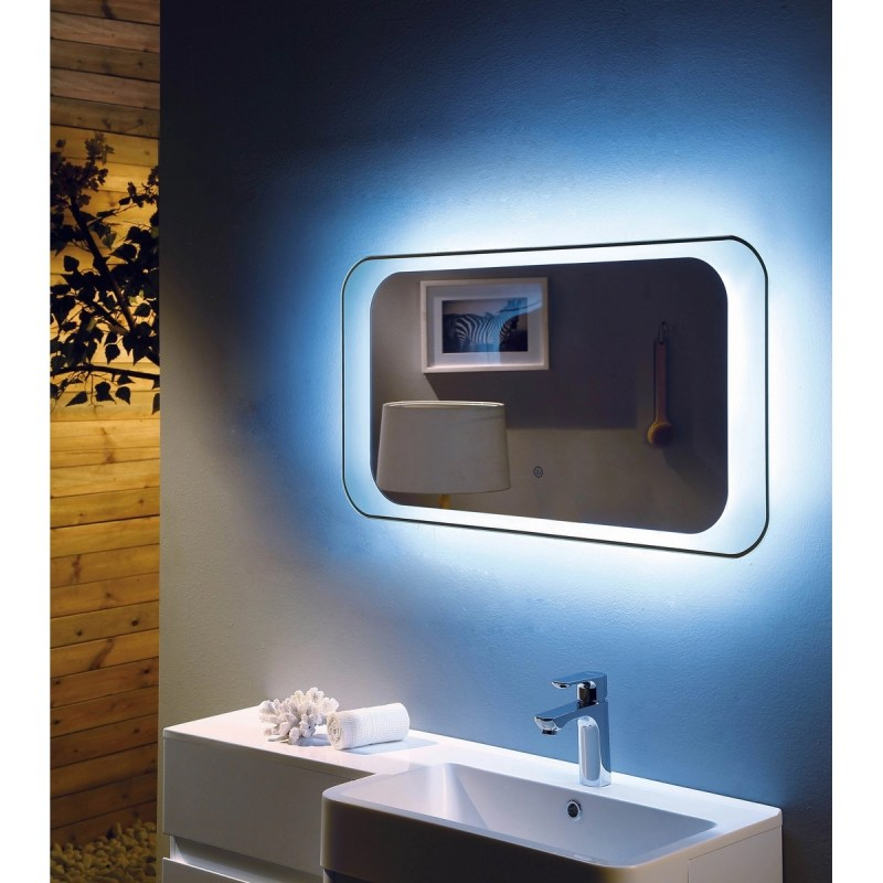 RAK Harmony 900x500mm LED Mirror with On/Off Switch & Demister