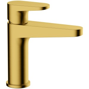 RAK Ischia Standard Basin Mixer Brushed Gold