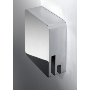 RAK Square Bath Overflow Filler with Clicker Waste Chrome
