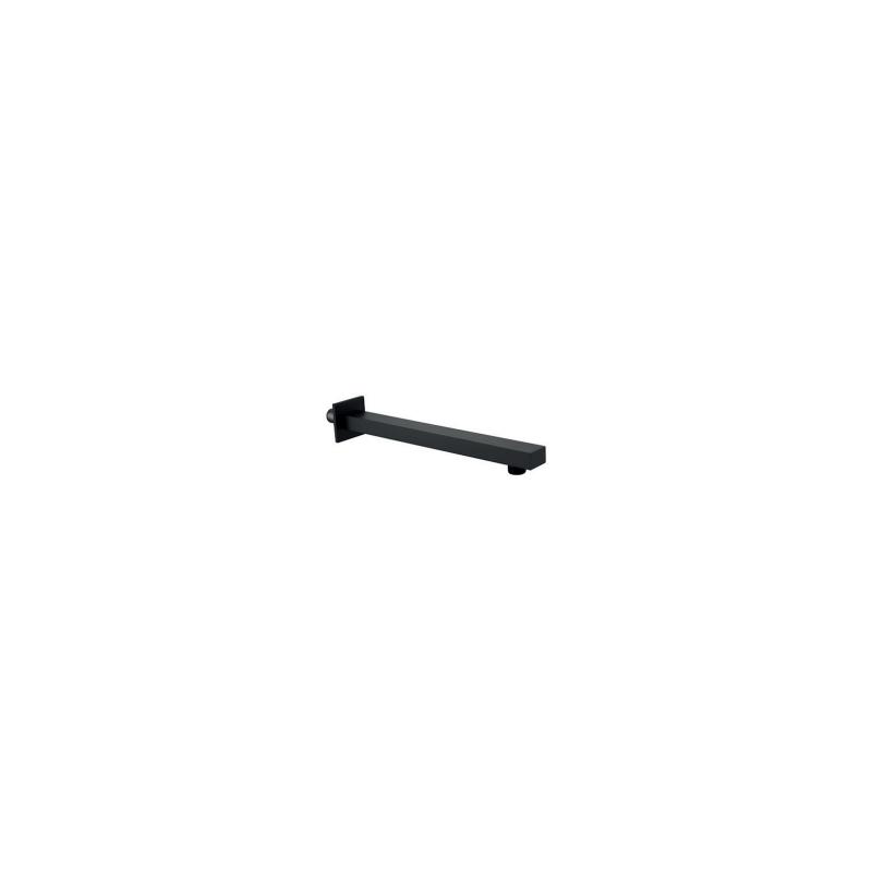 RAK 300mm Wall Shower Arm Square Black