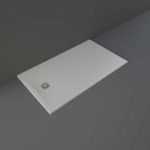 RAK Feeling Shower Tray Solid Grey 80x140cm