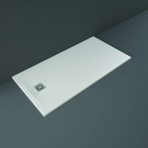 RAK Feeling Shower Tray Solid White 80x160cm