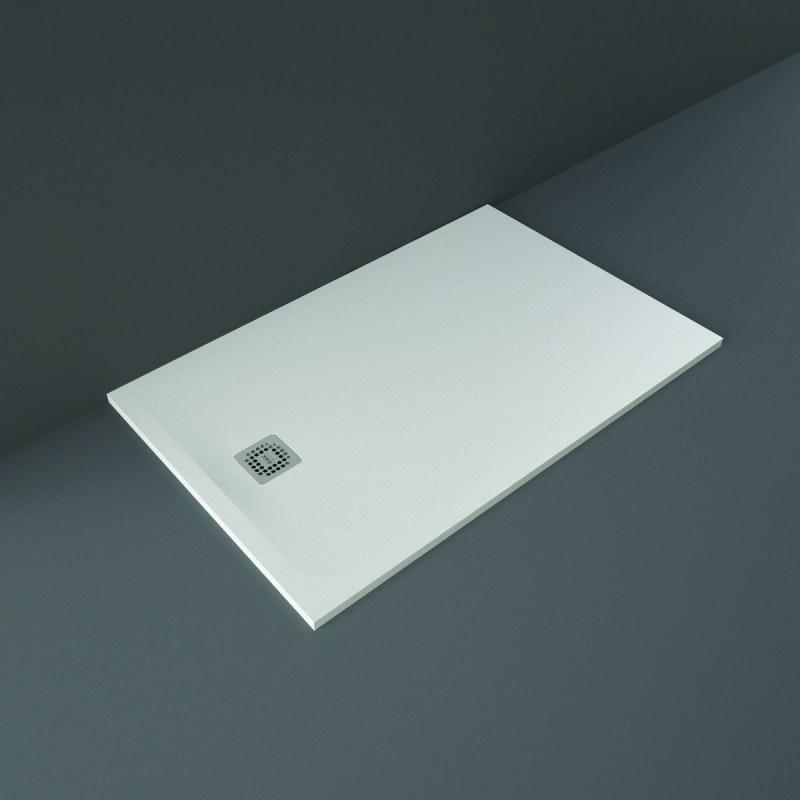 RAK Feeling Shower Tray Solid White 90x140cm
