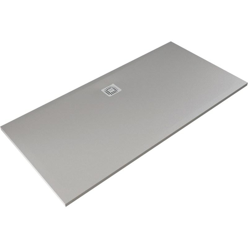 RAK Feeling 1700x800mm Shower Tray Grey