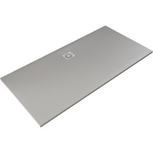 RAK Feeling 1700x900mm Shower Tray Grey