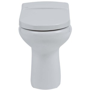 RAK Compact Rimless Back to Wall Toilet with Soft Close Seat