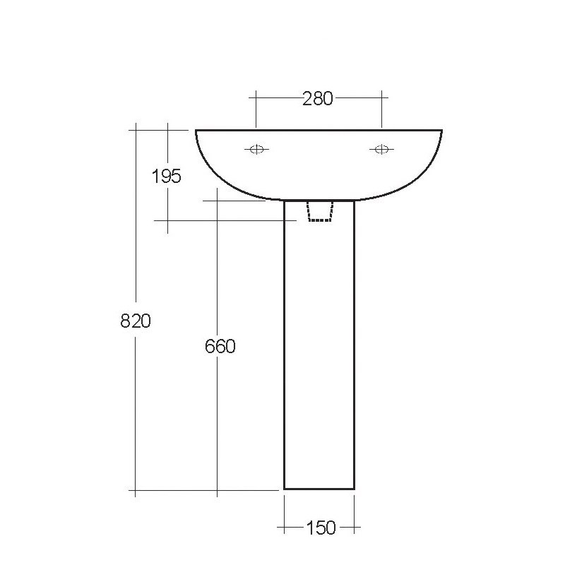 RAK Compact Pedestal Large