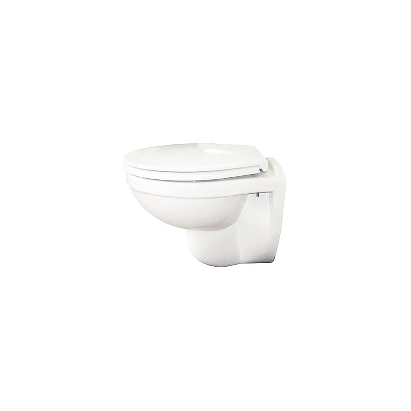 RAK Compact Wall-Hung Toilet with Soft-Close Seat
