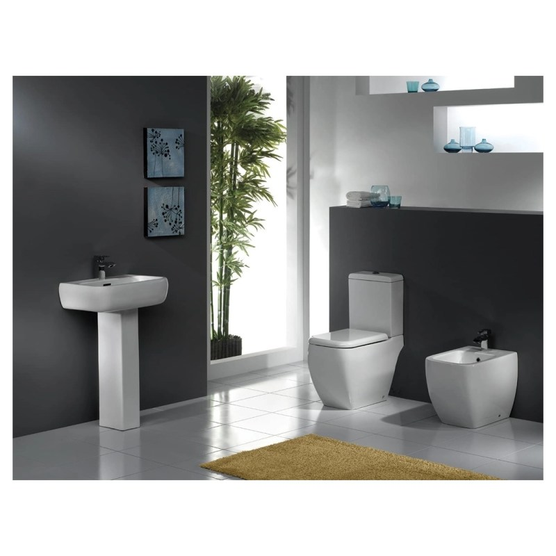 RAK Metro Close Coupled Toilet with Soft Close Seat
