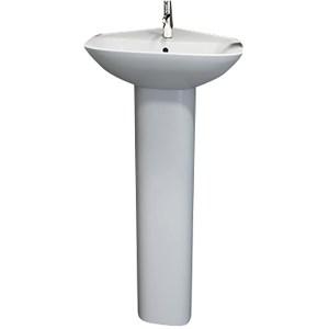 RAK Origin 62 Corner Basin & Pedestal