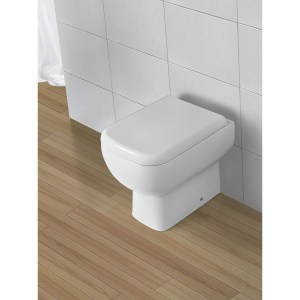RAK Series 600 Back-To-Wall Toilet with Standard Seat