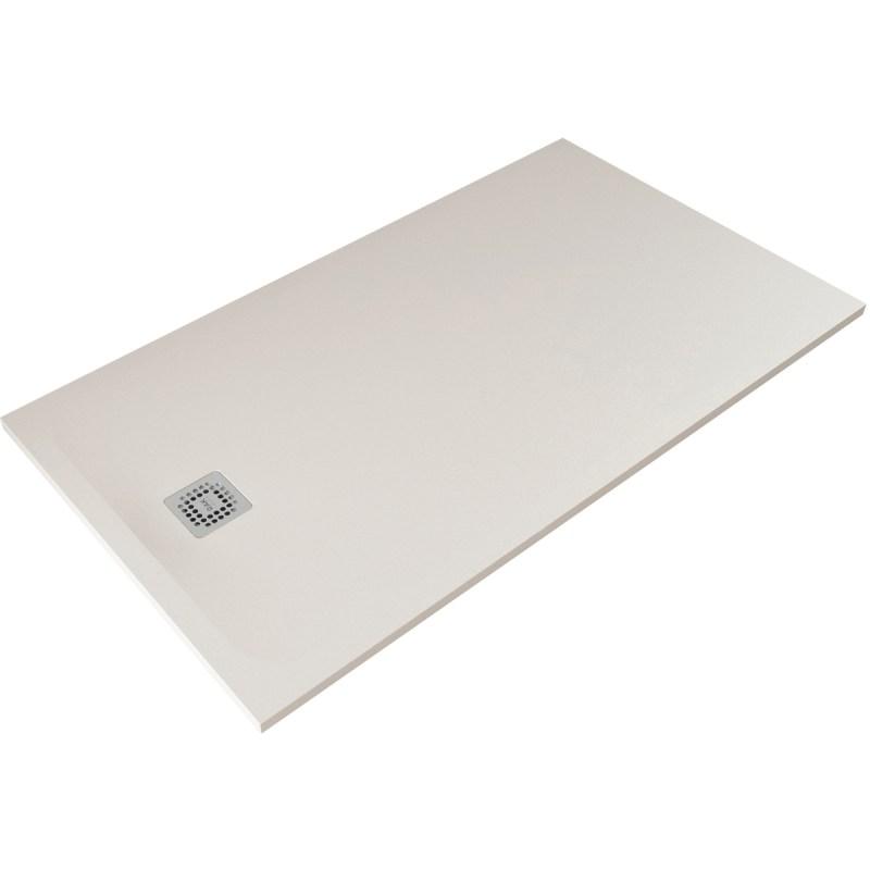 RAK Feeling 1400x900mm Shower Tray Greige
