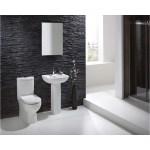 RAK Tonique 550mm Basin & Full Pedestal