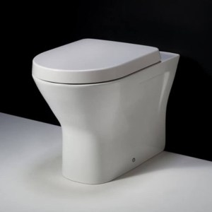 RAK Resort Comfort Height Back To Wall Pan with Wrap Over Seat