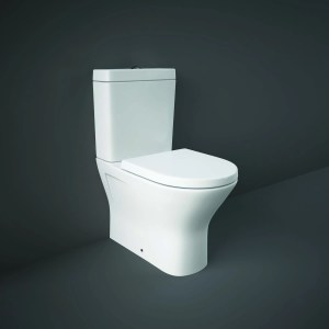 RAK Resort Mini Back To Wall WC Pack with Wrap Over Seat