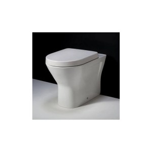 RAK Resort Back To Wall Pan with Wrap Over Soft Close Seat