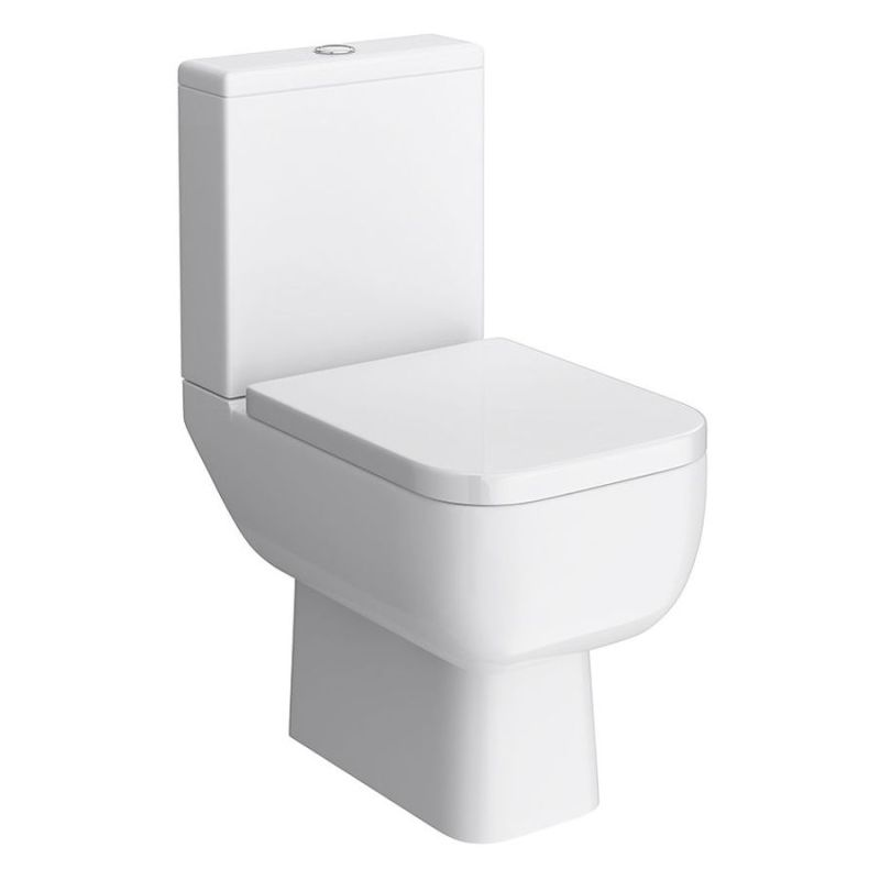 RAK Series 600 Close Coupled Toilet Pack with Soft Close Seat