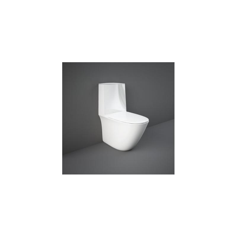 RAK Sensation Fully Back To Wall Pan, Cistern & Soft Close Seat
